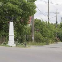 Crețești - Obelisc în memoria Eroilor căzuţi în primul război mondial