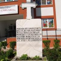 Brănești - Cruce dedicată eroilor