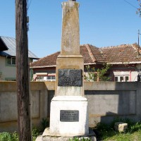 Vidra - Monument