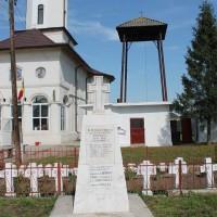 Domnești - Parcela cu cruci – Morminte cenotaf 1916-1918 in memoria Eroilor căzuți în Primul Război Mondial