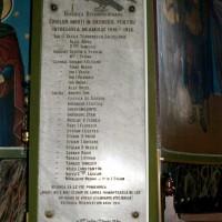 Chitila - Placă comemorativă