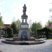Voluntari - Monumentul Eroilor Voluntari - Statuia eroilor voluntari din primul război mondial