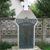 Micșunești Moară, Sat, Nuci, comuna - Monument/ Cruce