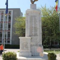 Măgurele, oraş - Monument dedicat Eroilor căzuți în cele două Războaie mondiale