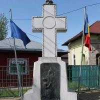 Dârvari sat, Ciorogârla comuna - Cruce comemorativă a Eroilor căzuți în primul război mondial
