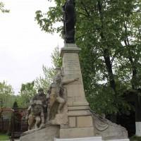 Afumaţi - Monumentul eroilor căzuți în primul război mondial