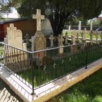 Tunari - Cruce colectivă dedicată Eroilor Gheorghe Anghel – tată și fiu – căzuți în Primul și al Doilea Război Mondial